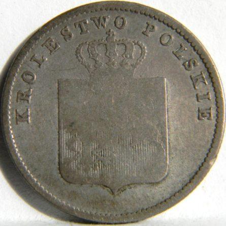 Poland-1831 silver 2 Zlote