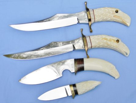 Tom Morlan custom knives