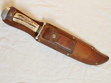 Anton Wingen, Germany-huge vintage Hunting Bowie, 1950th