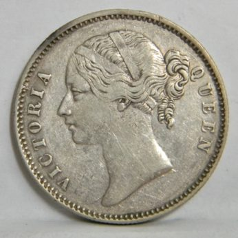 Victorian 1840 silver Rupee-East India Company