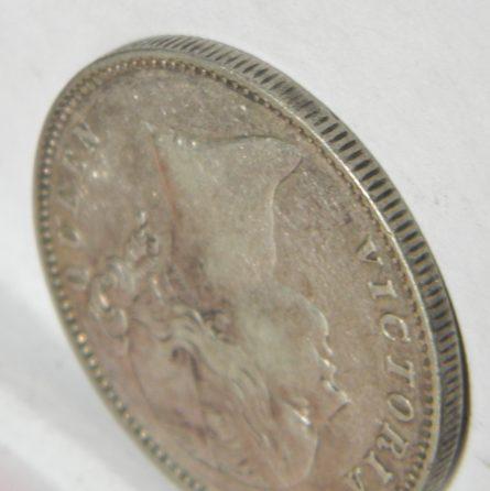 British East India Company 1840 silver Rupee