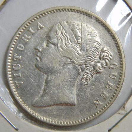 East India Company 1840 silver Rupee; AU
