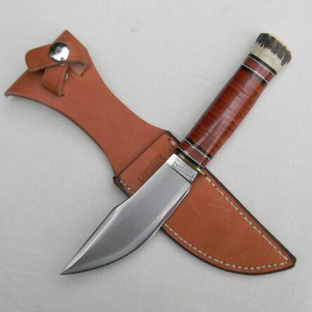 Marbles 1998 WOODCRAFT Hunter-Skinner knife stag