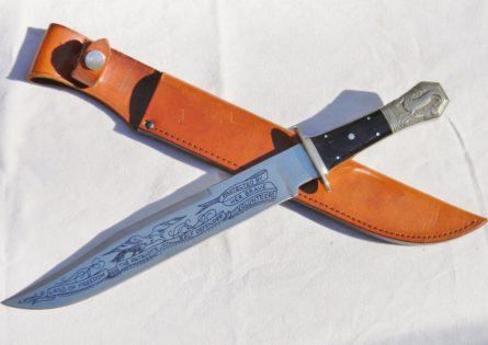 Parker Cutlery Japan SELF DEFENDER Bowie buffalo horn