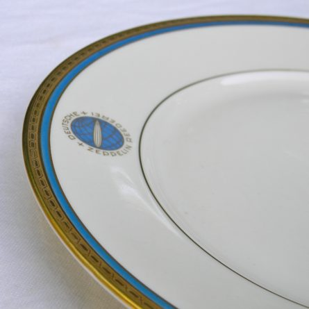 GRAF ZEPPELIN dinner plate Heinrich Co