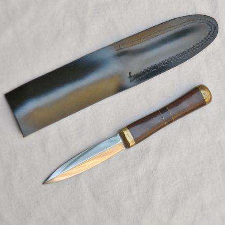 John Nelson Cooper custom boot knife dagger original sheath