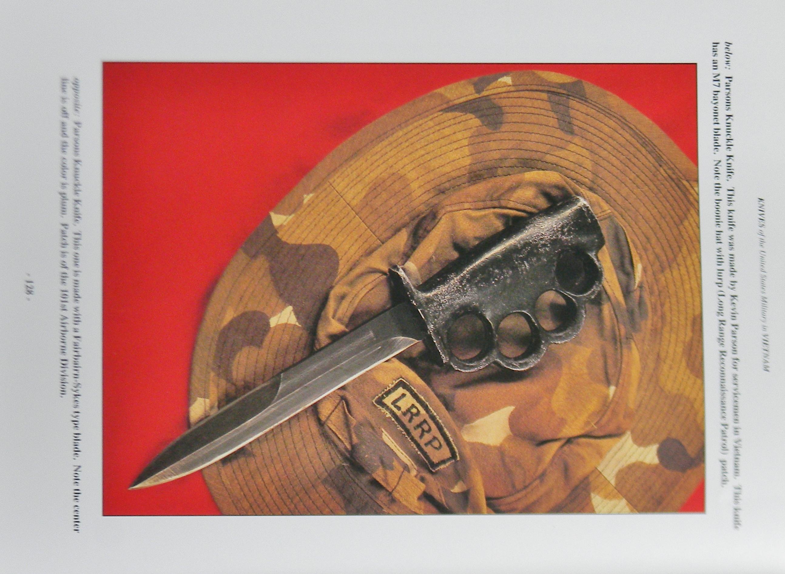 Original American Vietnam War Parsons Knuckle Guard