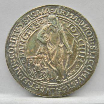 1520 Joachimstaler Bohemian Thaler Tolar 1994 silver restrike