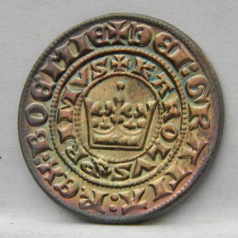 1310 1346 Bohemian PRAGER GROSCHEN 1994 Czech silver restrike