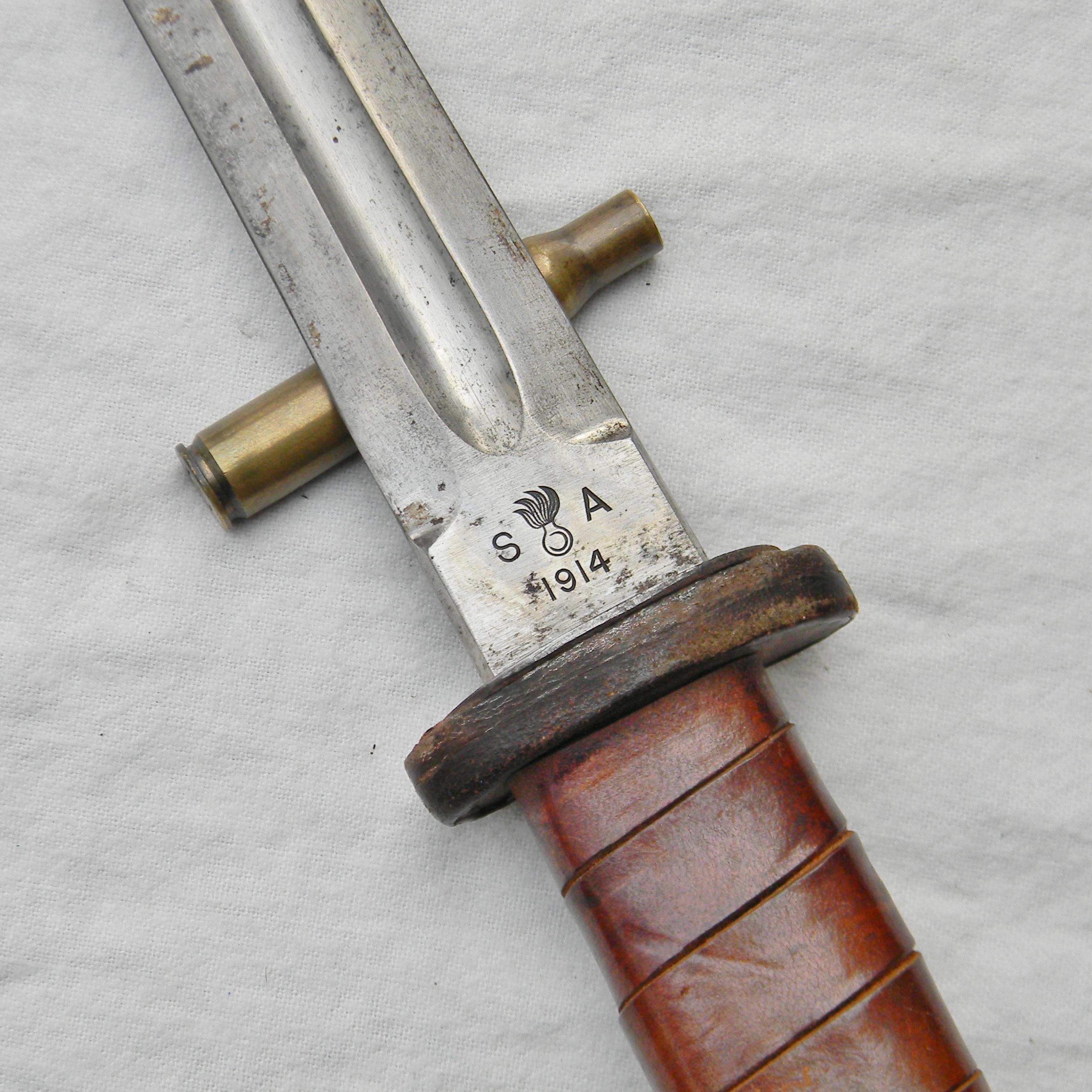 Ww2 American Fighting Knife Former Ww1 Patton Sword With