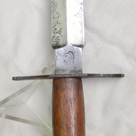 France WW1 LE VENGEUR trench knife BOURGADE fighting dagger
