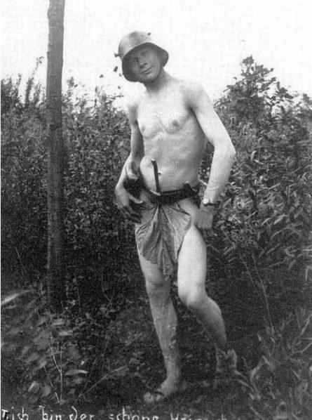 German officer WW1, Demag