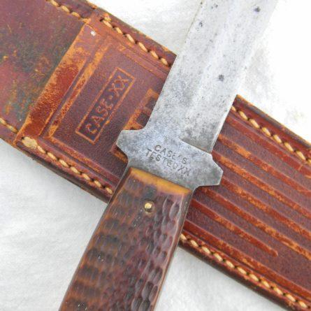WW2 CASE TESTED XX Pig Sticker dagger jigged bone