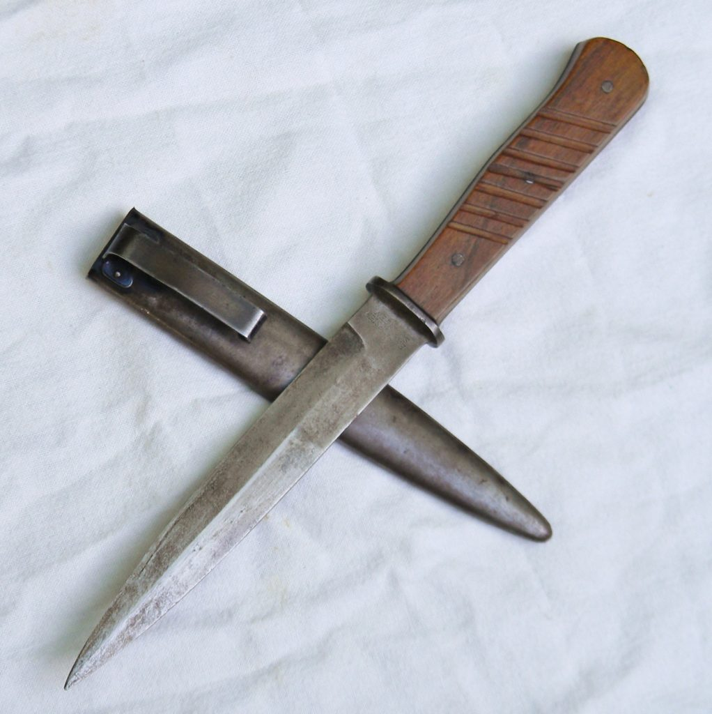 Ww2 Germany Ef Horster Infanteriemesser 42 Fighting Knife