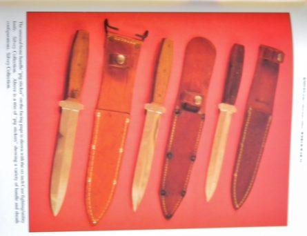 WW2 Case XX Pick Sticker daggers