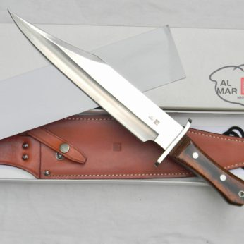 AL MAR model 4009 Alaskan Bowie hunting knife
