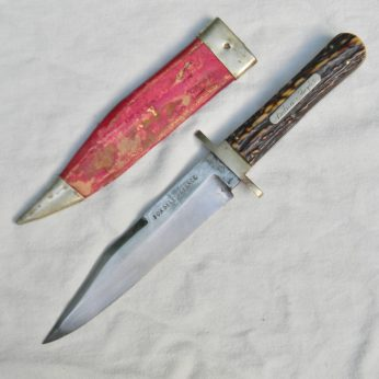 ALEXANDER SHEFFIELD FOR SELF DEFENCE Civil War era Bowie Knife