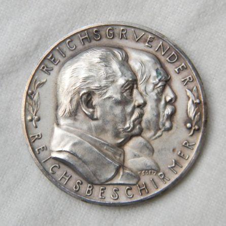 Germany KARL GOETZ 1931 silver medal Bismark Hindenburg