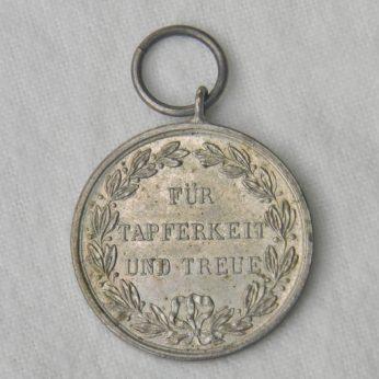 GERMANY Wurttemburg WW1 Fur Tapferkeit Und Treue silver medal