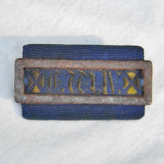 GERMANY Prussia 1840-1861 Ordensschnalle ribbon bar GOOD CONDUCT pin