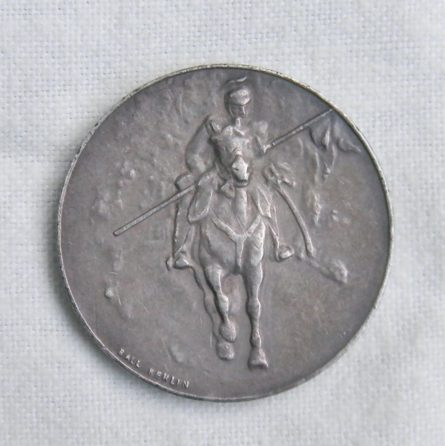 Germany Kronprinz Wilhelm Guraske 1915 Husaren silver medal