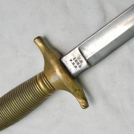 American Civil War era Fighting Knife M1840 NCO Sword
