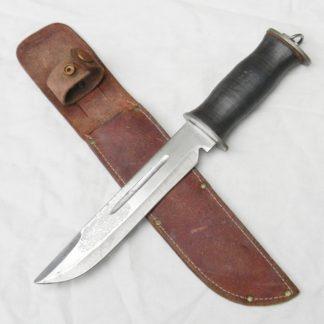 WW2 EGW Waterman large American fighting knife