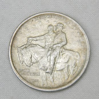 USA 1925 Stone Mountain monument silver Half Dollar coin