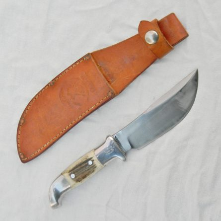 Rudy RUANA 1970th model 14B M-mark Skinner knife