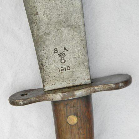 US M1909 Hospital Corps Bolo Knife