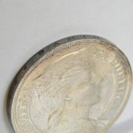 LATVIA 1932 5 Lati