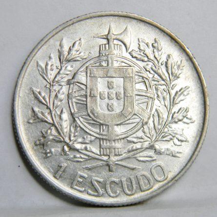 PORTUGAL 1910 silver ESCUDO