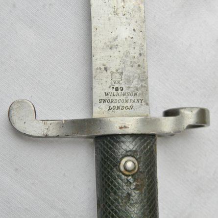 PATTERN 1887 MARTINI-HENRY SWORD BAYONET
