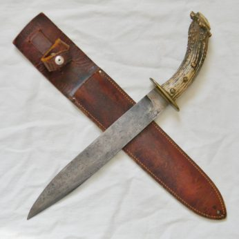 WW2 New Caledonia fighting knife