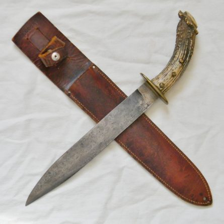 WW2 New Caledonia fighting knife