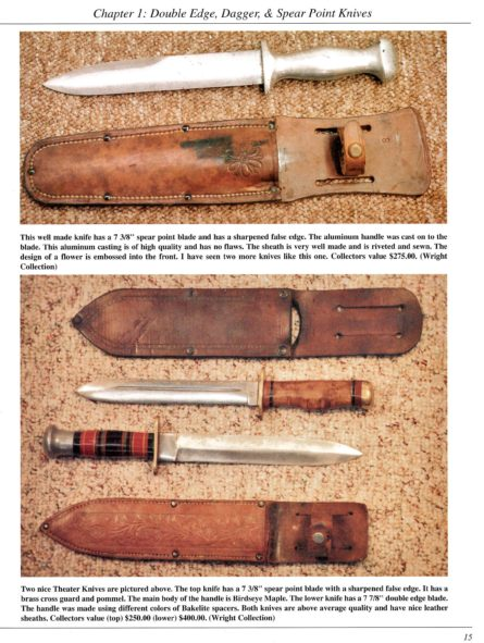WW2 theater fighting knife