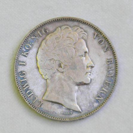 German States Bavaria 1844 silver 3.5 Gulden 2 Thaler