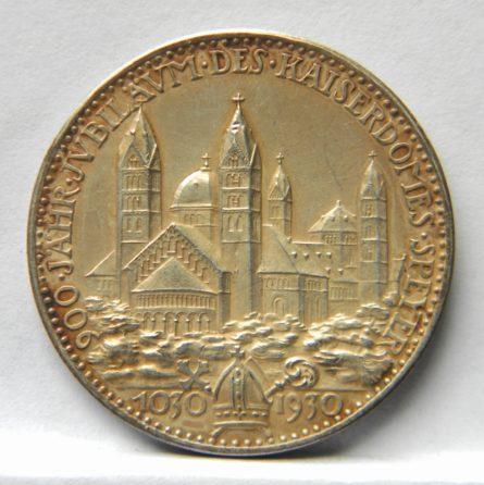 Germany KARL GOETZ 1930 Speyer Cathedral silver medal