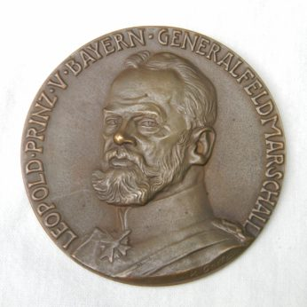 Germany Karl Goetz 1915 Warsaw capture bronze medal