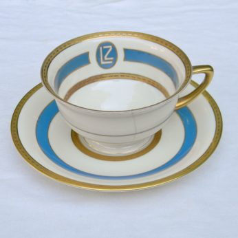 Graf Zeppelin LZ127 airship porcelain tableware