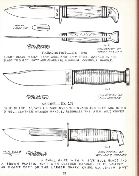 Western WW2 L71 knife