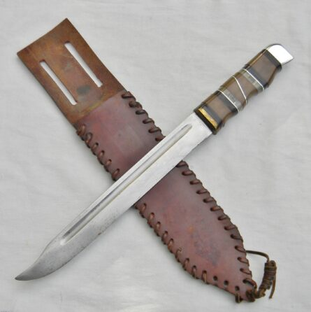 WW2 American theater-made fighting knife