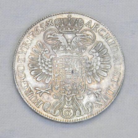 Austrian States Burgau 1765 silver Thaler