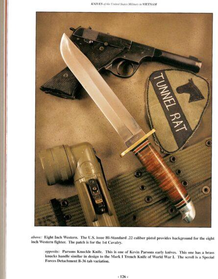 Vietnam War Western fighting knife