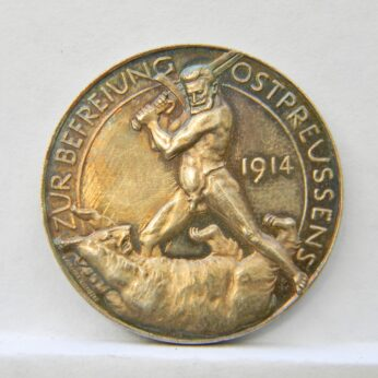 Germany WW1 1914 Hindenburg silver medal