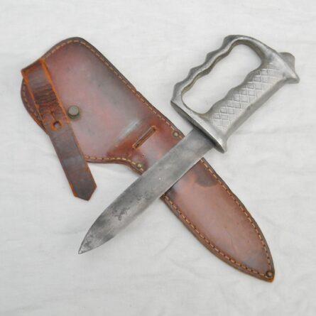 Australia WW2 knuckle duster fighting knife