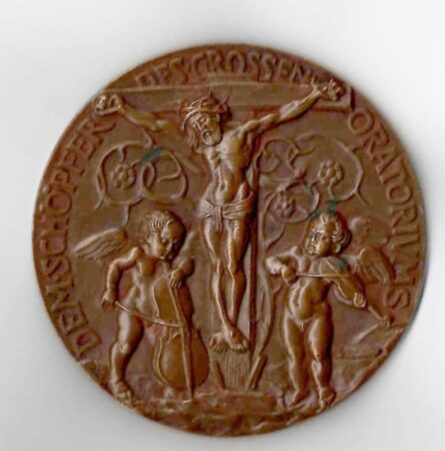 Karl Goetz 1911 Franz Liszt bronze medal