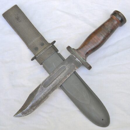 MH Cole WW2 fighting knife