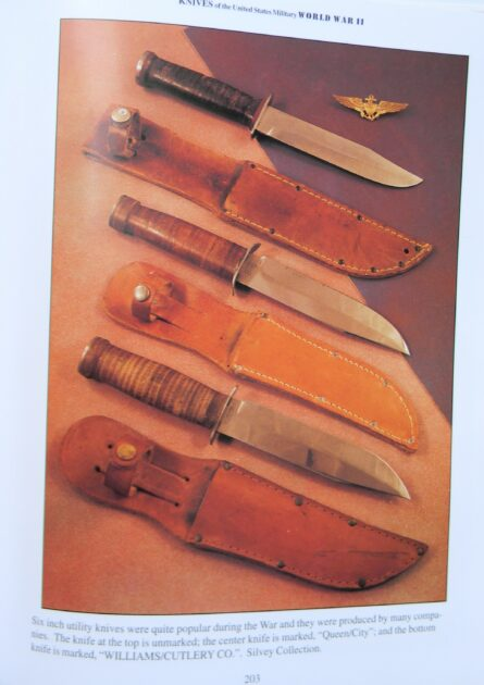 Queen City knife WW2