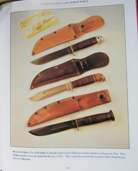 WW2 Western Shark knife